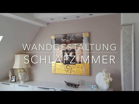 Wandgestaltung Schlafzimmer & Deckengestaltung   Raumausstattung Darmstadt Barussow