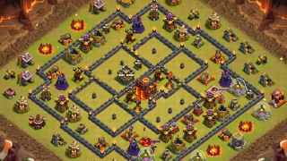 Clash of Clans | How to Beat Popular TH10 Ring Base | 3 Star Strategy