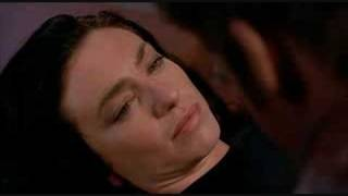 Farscape Aeryn and John look into each other&#39s eyes