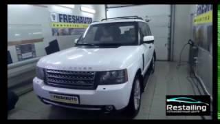 Range Rover Vogue приехал на химчистку паром