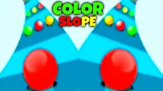 COLOR SLOPE - EPIC GAMEPLAY!!! - HIGHSCORE!!! - EPIC FREE GAME (HD)