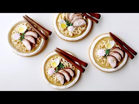 How To Decorate Ramen Cookies!