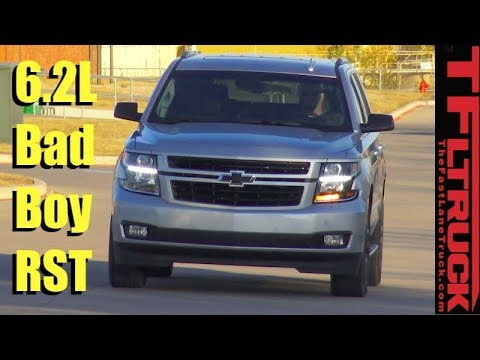 Most Powerful Tahoe Ever! Brand New 2018 Chevy Tahoe RST First Drive Review