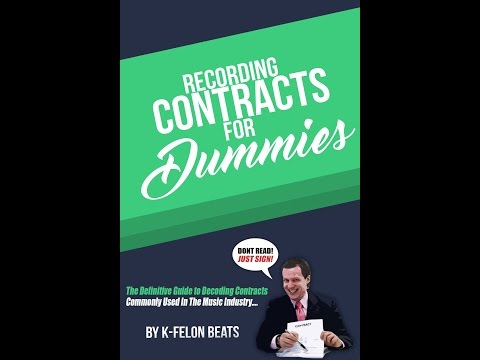 Recording Contracts For Dummies
