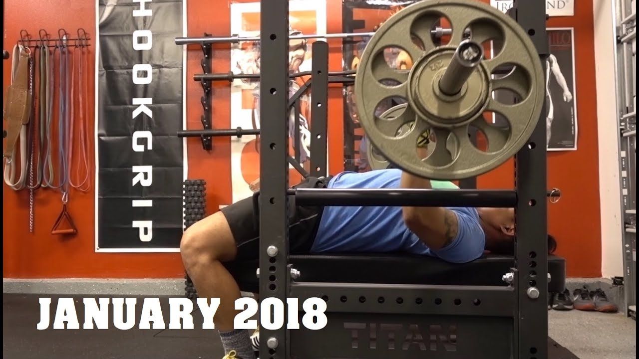 January in review garage gym athlete youtube