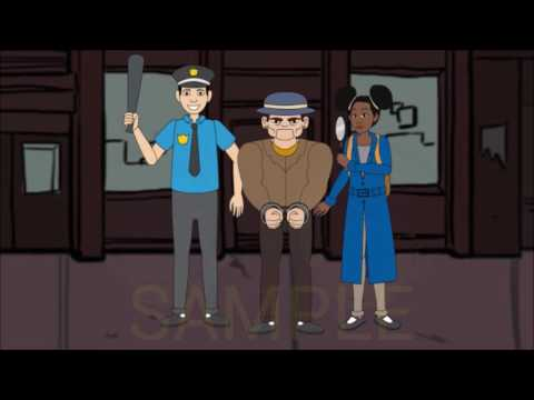 ANGIE JACKSON MYSTERIES ANIMATED TV SERIES SNEAK PREVIEW