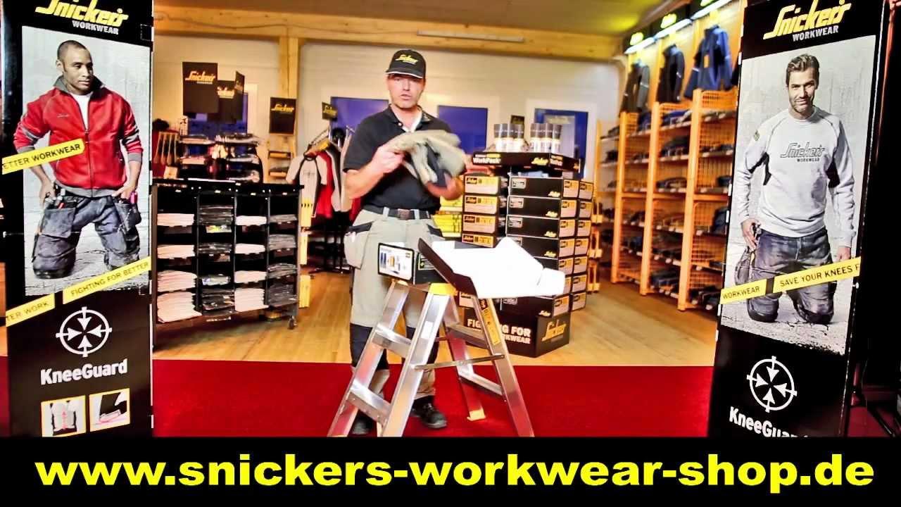 Snickers Workwear Kusterdingen - Workpack 2013! - YouTube