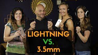 Lightning Headphones vs 3.5mm Jack Challenge: Best iPhone 7 Headphones! #YTNextUp