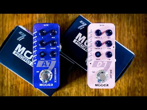 MOOER: A7 Ambiance & D7 Delay