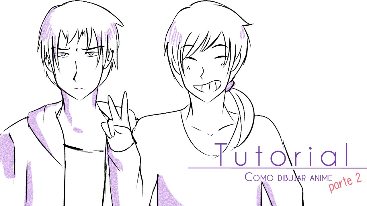Tutorial ۰• Como Dibujar Anime [parte 2] Cuerpo Masculino