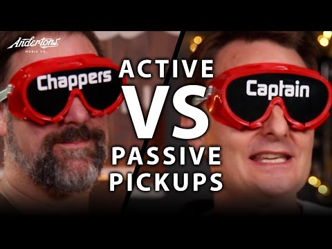 Active Pickups vs Passive Pickups - The Blindfold Challenge!!