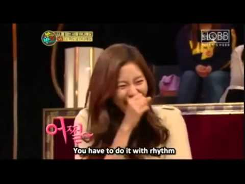 BigBang TOP & AfterSchool Uee at Saturday Night Live [ENG SUB]
