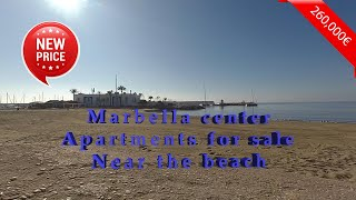 Marbella center apartments  for sale Near the beach
