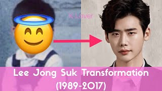 Lee Jong Suk Transformation (1989-2017)
