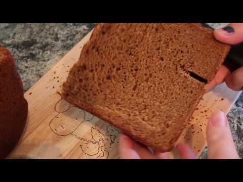 Ржаной хлеб в хлебопечке, домашний вкусный рецепт с закваской