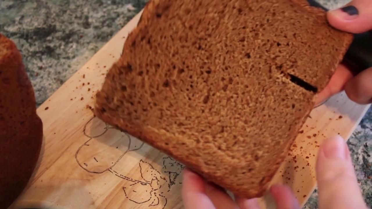 Как испечь черный хлеб в хлебопечке