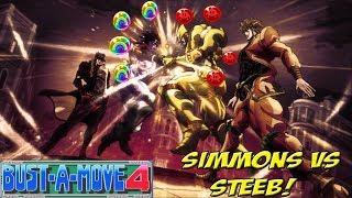 Dreamcast: Bust a Move 4! Jojo-like Showdown Between Steeb and Simmons! - YoVideogames