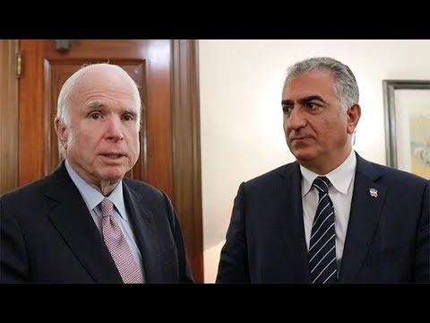 Iranistas' Update on Prince Reza Pahlavi's day on Capitol Hill