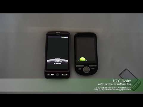 HTC Desire - Android™ Smartphone - Part 3: Compare with HTC Tattoo