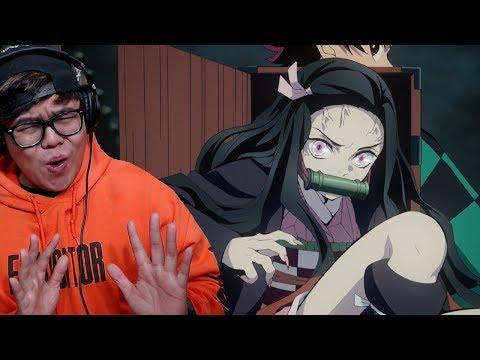 NEZUKO BIG MAD! | Demon Slayer: Kimetsu no Yaiba Episode 6 Live Reaction &  Review