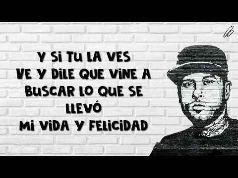 Si tú la ves - Nicky Jam (LETRA) ft. Wisin