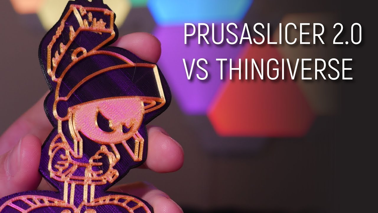 PrusaSlicer 2 0 vs Thingiverse - 3D Printing Gauntlet Episode 1