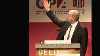 GPA-djp BR-Konferenz, Dr. Martin Schürz, OeNB