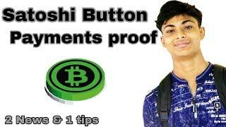 Latest Payment Proofs of Satoshi button, Bitcoin Captcha best Tricks & tips 👊ChampMunna👊