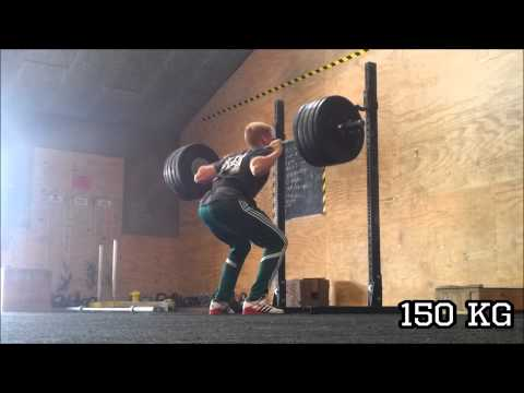 Back Squat - 150 Kg X 7 Reps (4. September 2015)