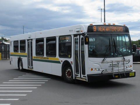 Transit Cape Breton: 2007 New Flyer D40LFR 7111 (Ex-Red Deer Transit 732)