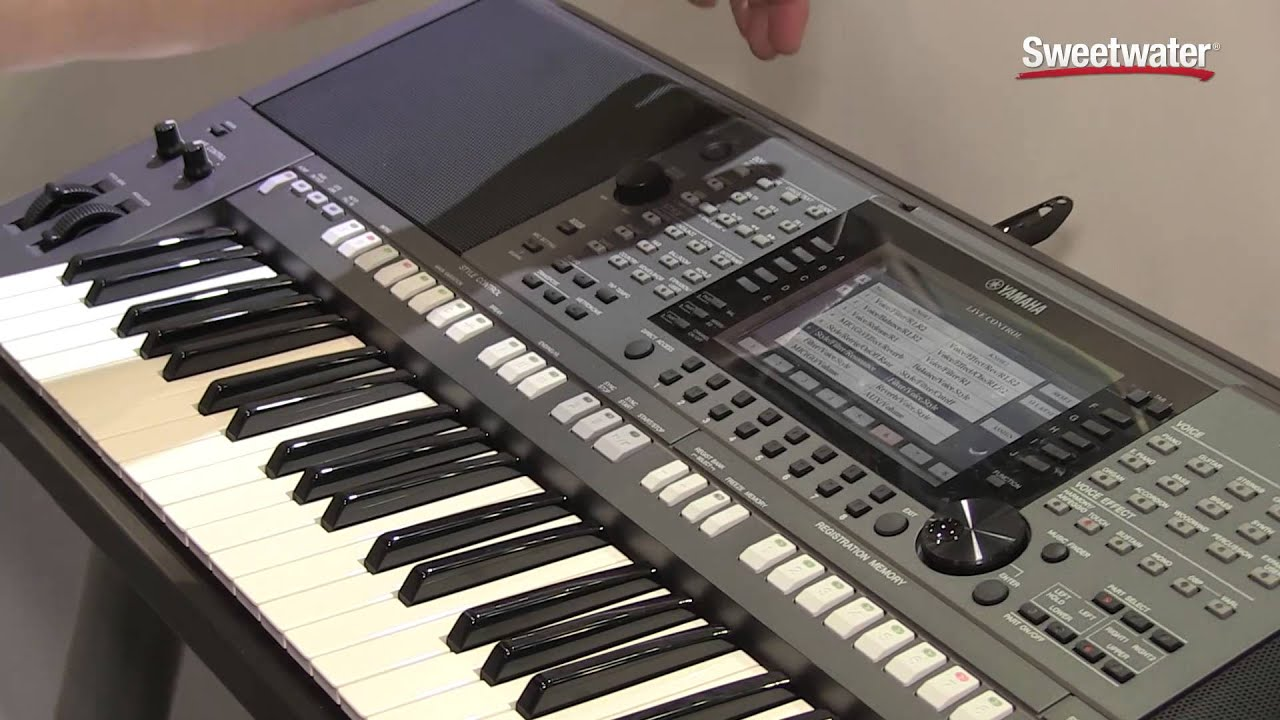 summer namm 2015 yamaha psr s770 arranger keyboard demo. Black Bedroom Furniture Sets. Home Design Ideas