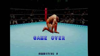 Zen Nippon Pro-Wrestling Featuring Virtua game over