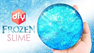 DIY Frozen Slime ! Clear Slime Putty | MonsterKids