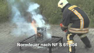 german technology fire extinguisher by fire solution india pvt ltd on wood and solid