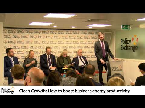 Clean Growth: How to boost business energy productivity