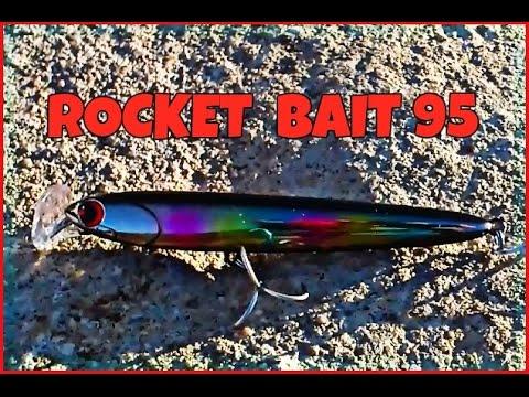 Barracudo- Rocket bait95- De Japón al canal!!