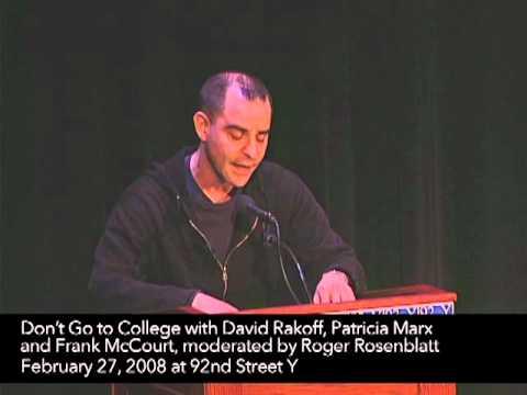 David Rakoff: Don't Go To College | 92Y Talks