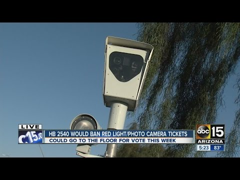 Another push to ban red light cameras, photo radar in Arizona