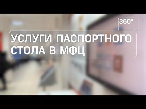 Услуги паспортного стола теперь оказывают в МФЦ Подмосковья