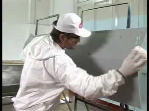 Pintura automotor (acrilico nitro) Trimas - YouTube