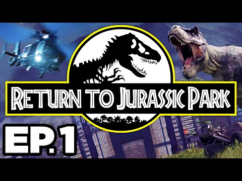 Return To Jurassic Park Ep.1 - 🔧 FIXING ISLA NUBLAR, PHOTOGRAPHING DINOSAURS!! (Gameplay Let's Play)