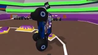 Roblox monster jam stunts compilation 2!