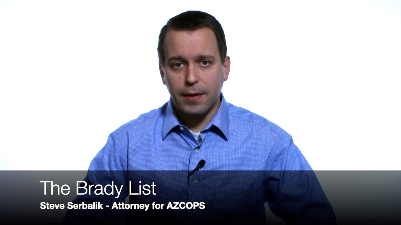 """The Police """"Liar's List"""" - Learn about the Brady List - Officer Integrity Database"""