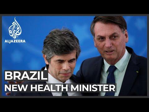 Brazilian President Bolsonaro defends firing of health minister