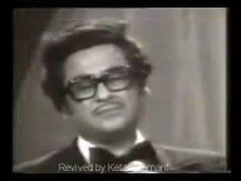 Zindagi Ka Safar Live By Kishore Kumar