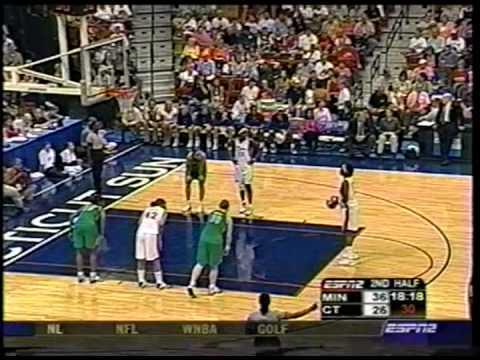 Classic WNBA: Minnesota Lynx vs. Connecticut Sun (July 22nd, 2004)