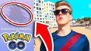 A NEW POKEMON! (LA Pokemon Go)