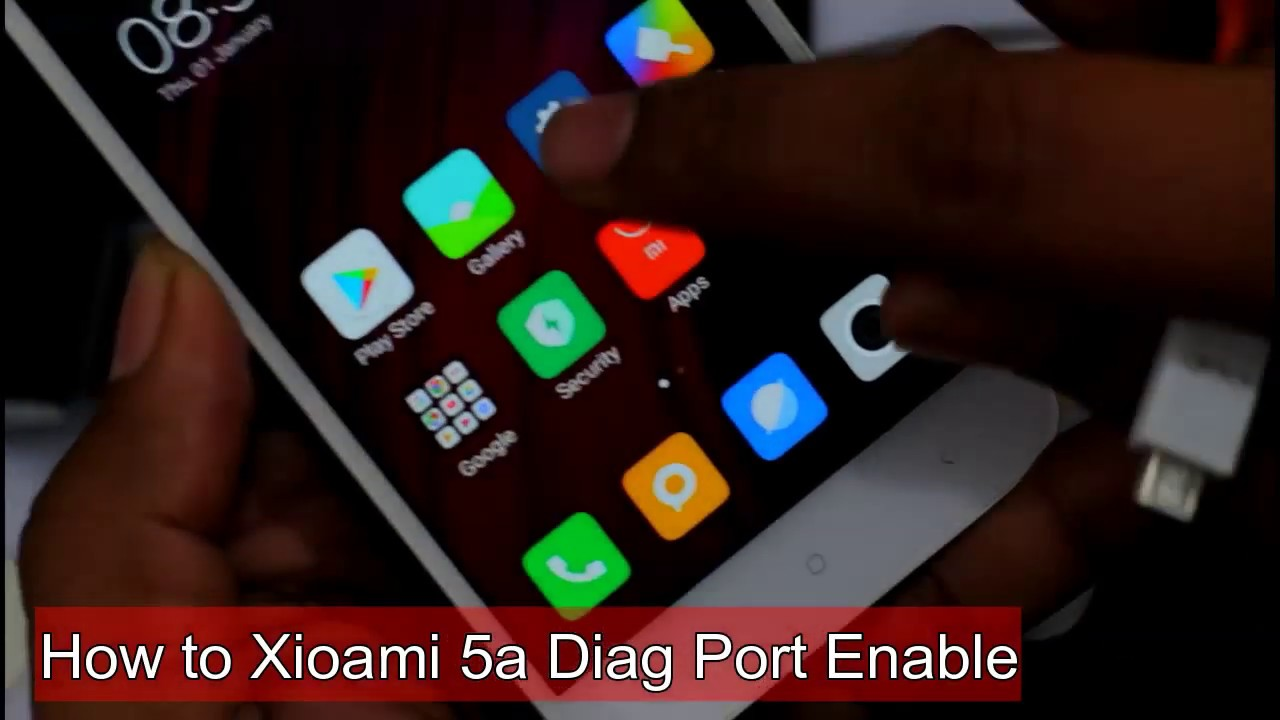 No Root ) Redmi 5A How To Enable [DIAG PORT] Qualcomm Diagnostic