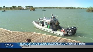 Texas lawmakers strike delicate balance on border trip