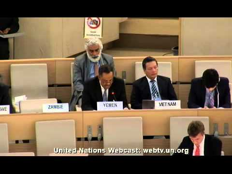 Consideration UAE UPR Report - UN GA 27th session  - 7 June 2013